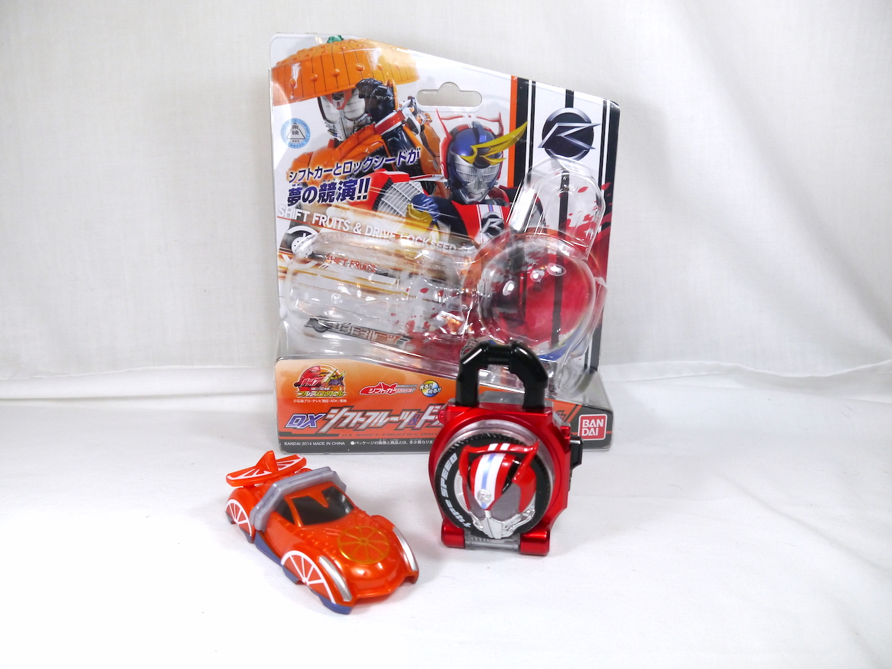 Bandai Kamen Rider Drive DX Shift Fruits /& Drive Lock Seed Set