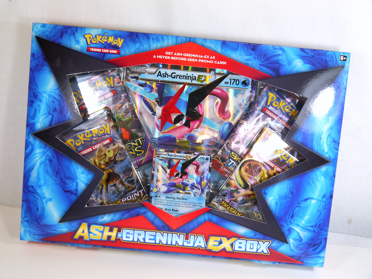 POKEMON CODE CARD FROM THE 2016 ASH-GRENINJA BOX