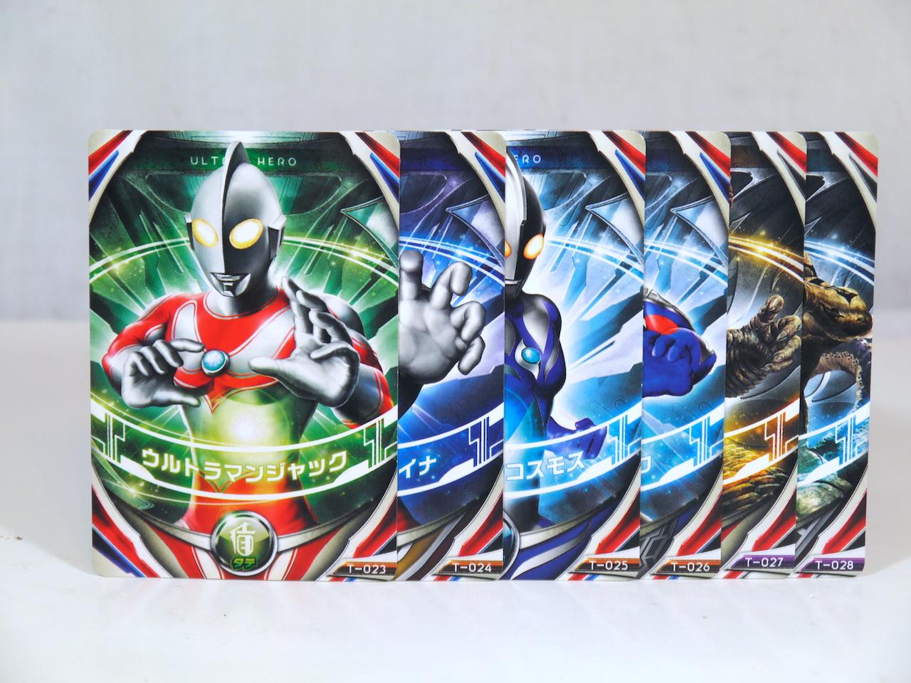 BANDAI Ultraman Orb Ultra Fusion Card #02 hurricane slash Set for Orb Ring