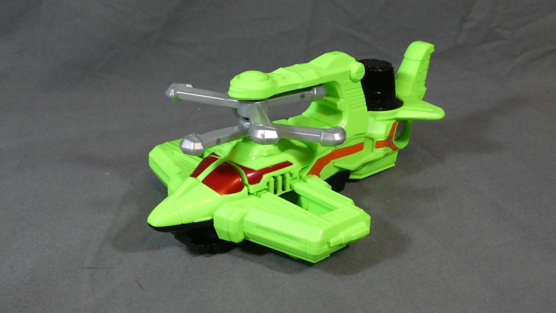Lupinranger VS Patoranger VS vehicle series DX cyclone dial Fighter